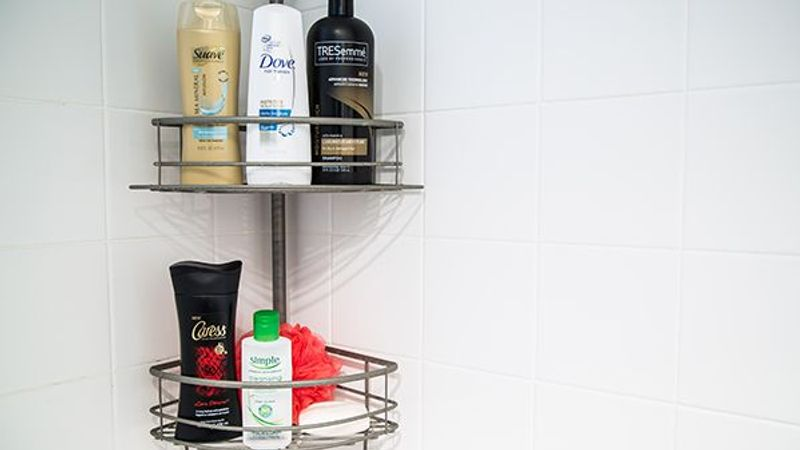 Unilever bathroom products in the shower