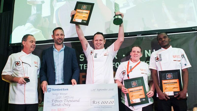 Unilever Food Solutions Chef of the Year Crowned