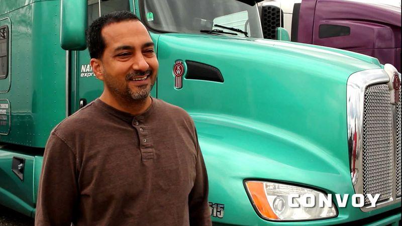 A Convoy truck driver