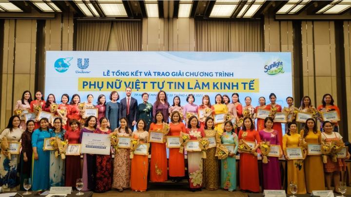 Unilever thúc đẩy trao quyền cho phụ nữ