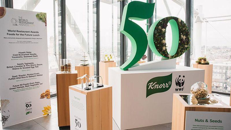 Knorr future 50 food event