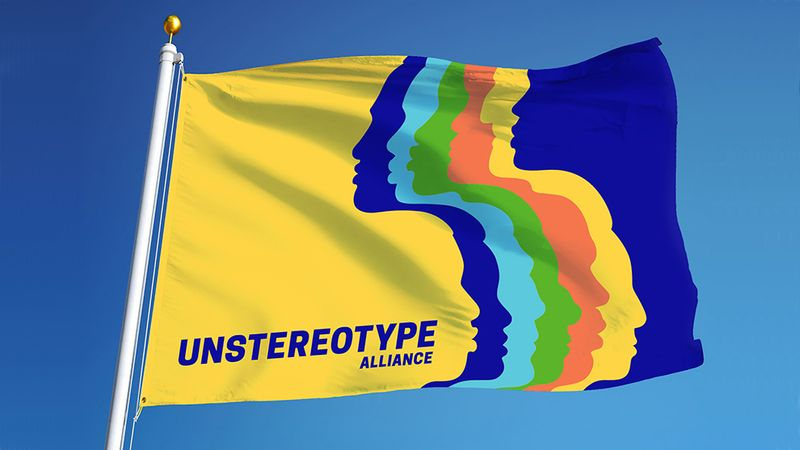 Unstereotype Alliance flag