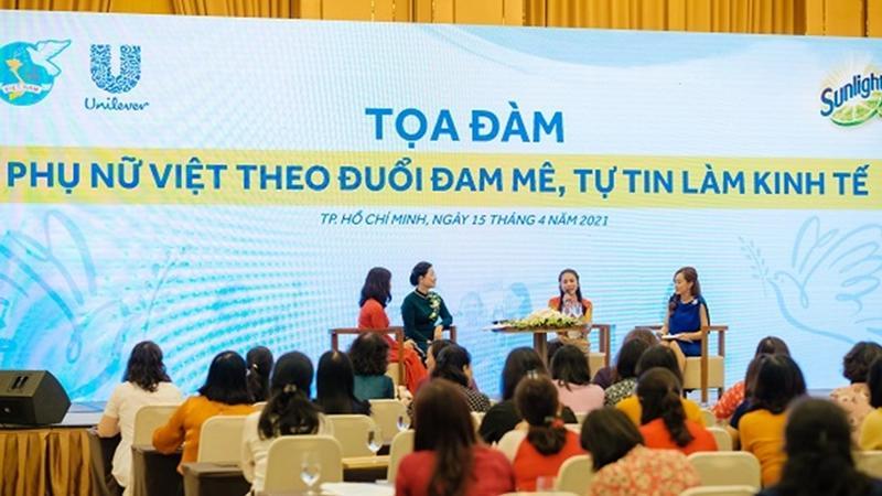 Unilever Việt Nam hợp tác hỗ trợ 1 triệu phụ nữ Việt tự tin làm kinh tế đến năm 2025