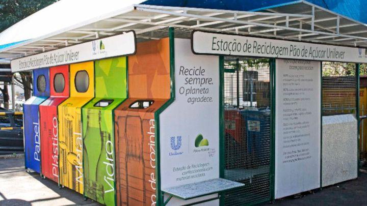 Estacao reciclagem