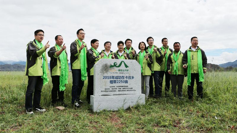 Green Hada Action Witness Tour Stone Monument Unveiled