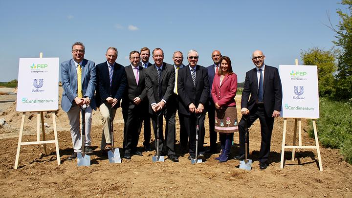 Representatives of Condimentum New Anglia LEP FEP and Unilever