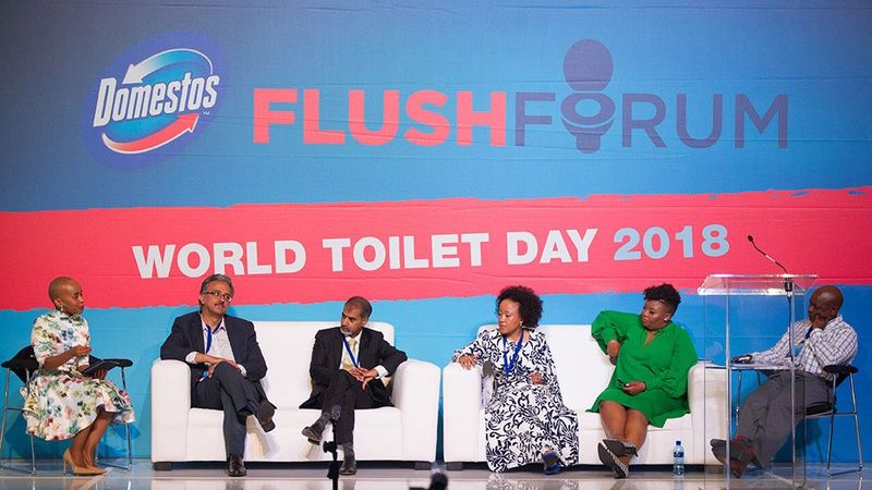 South Africa world toilet day