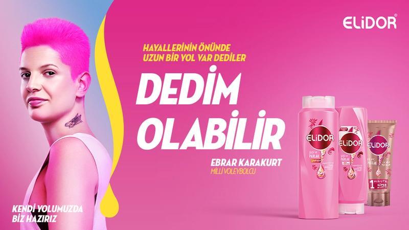 Milli Voleybolcu Ebrar Karakurt ile birlikte Elidor ürünleri