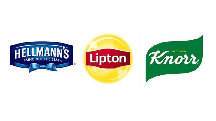 Hellmann's, Lipton and Knorr's logo