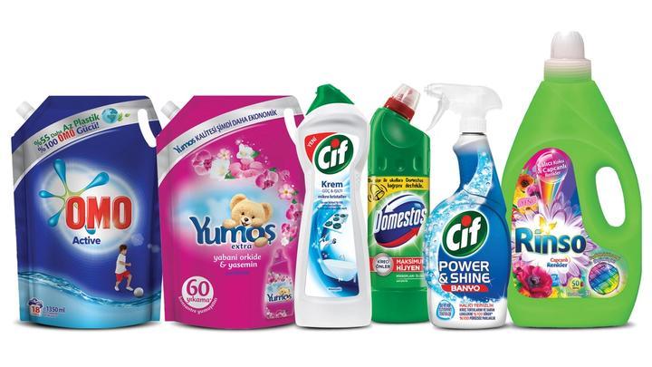 Unilever Bahar Temizligi Urunleri Toplu