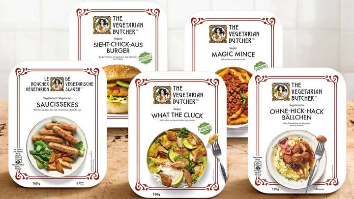Different flavours for Vegetarian Burger