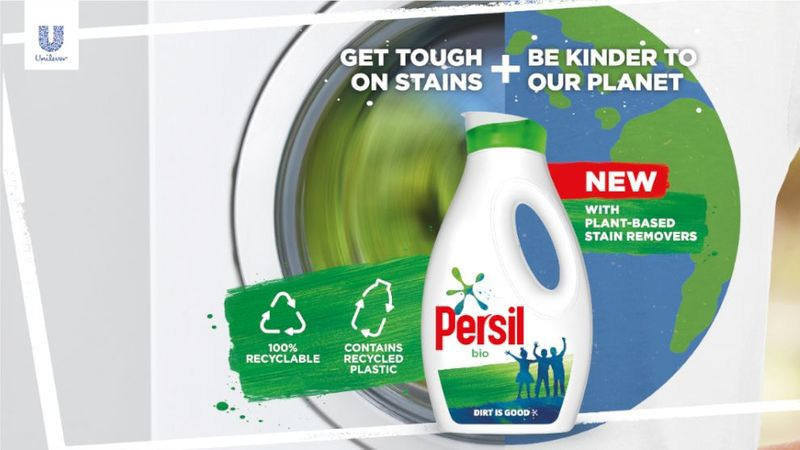 Persil launch new bottle that is 100% recyclable