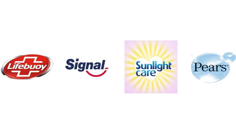 Lifebuoy, Signal, Sunlight Care and Pears brands