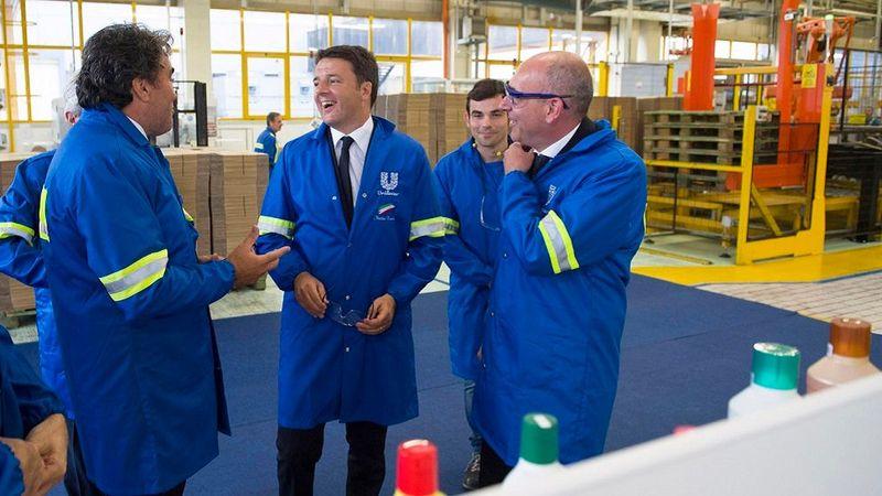 Visita Presidente del Consiglio Matteo Renzi presso stabilimento Pozzilli-26-07-2016 - Foto: Tiberio Barchielli da www.governo.it