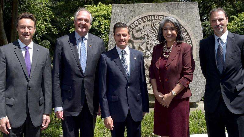 Compromiso con México anunciando inversión