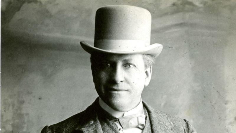 Feature image - William Hesketh Lever, co-founder, 1900