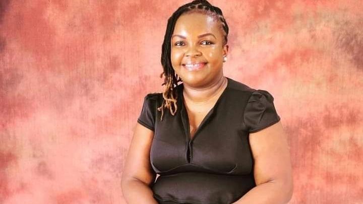 Unilever Hero Everlyne Mbaluka seated