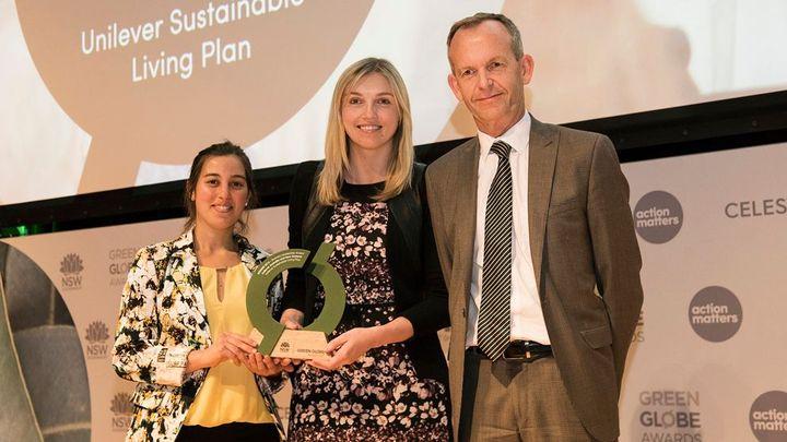 Unilever wins at Green Globe awards