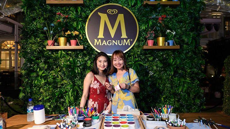 Magnum Pleasure Garden Girls Smiling