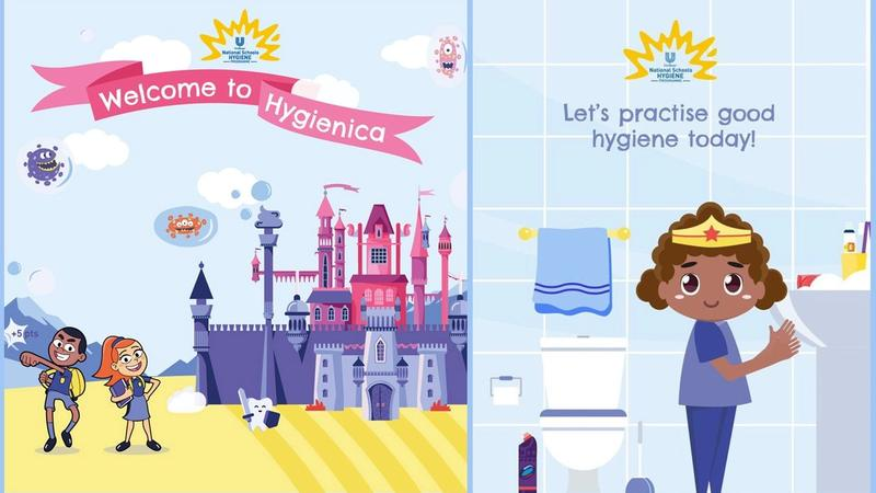 Feature image - Germ-busting gaming platform, Hygienica Castle