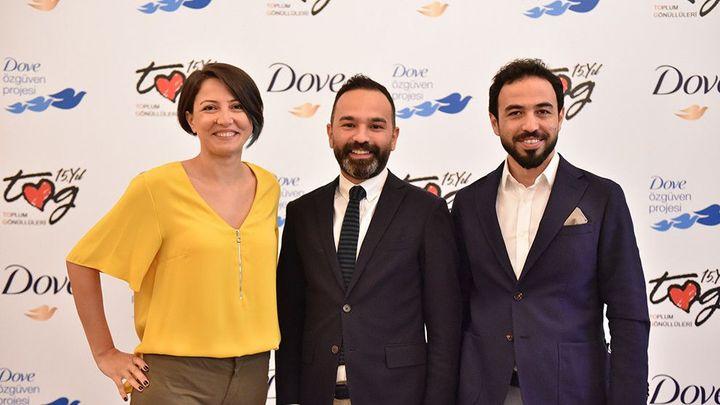 TOG Genel Müdürü Jülide Erdoğan, Unilever Kişisel Bakım Pazarlama Direktörü Alper Eroğlu, Dr. Özgür Bolat