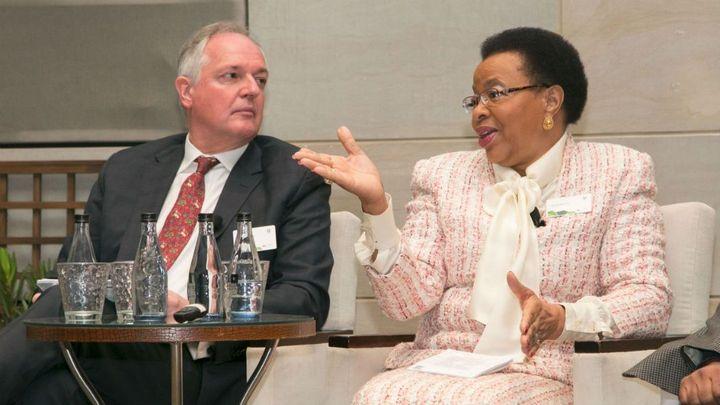 Paul Polman and Dr Graca  Machel Pannel Discussion