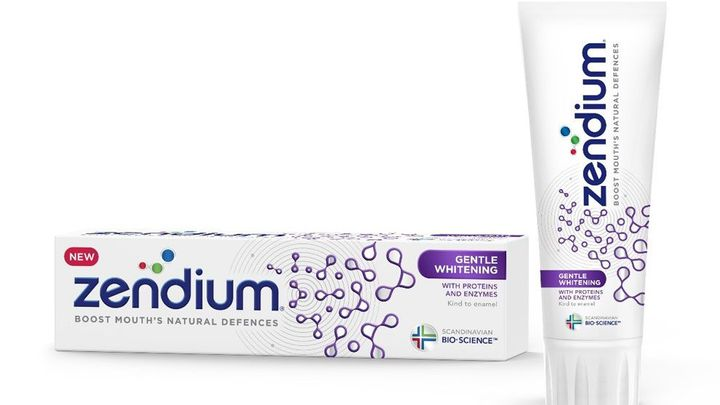 Zendium Gentle Whitening fogkrém