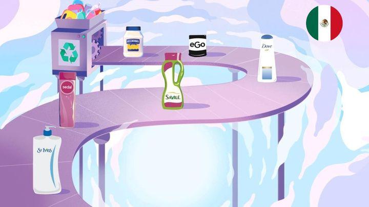 Unilever Marcas Recicladas