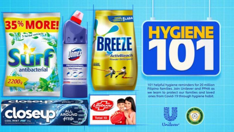 Hygiene 101 key visual
