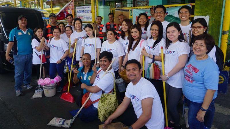 unilever volunteers