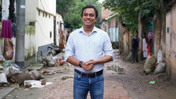 Territory Manager, Riaz Hasan
