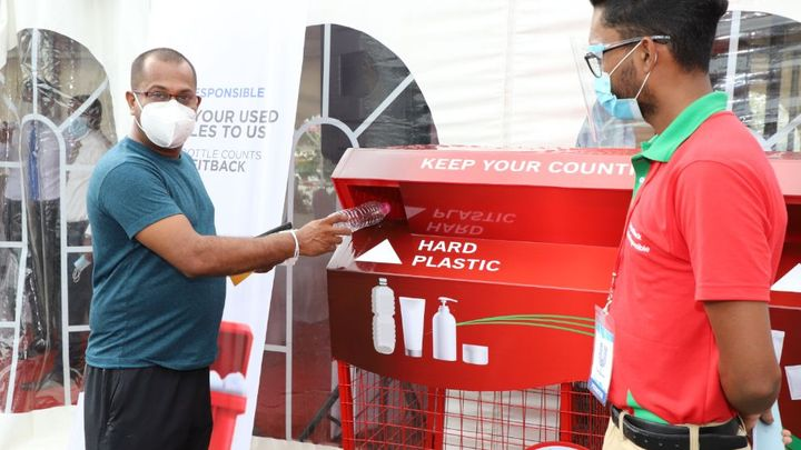 Plastic Waste Management Unit at the Cargills Food City Pelawatta outlet