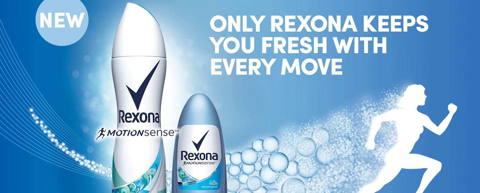 Rexona advertising banner