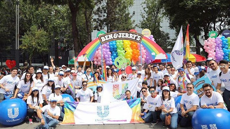 Unilever Marcha por el Orgullo LGBT