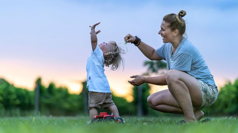Feature image - Woman and child outside