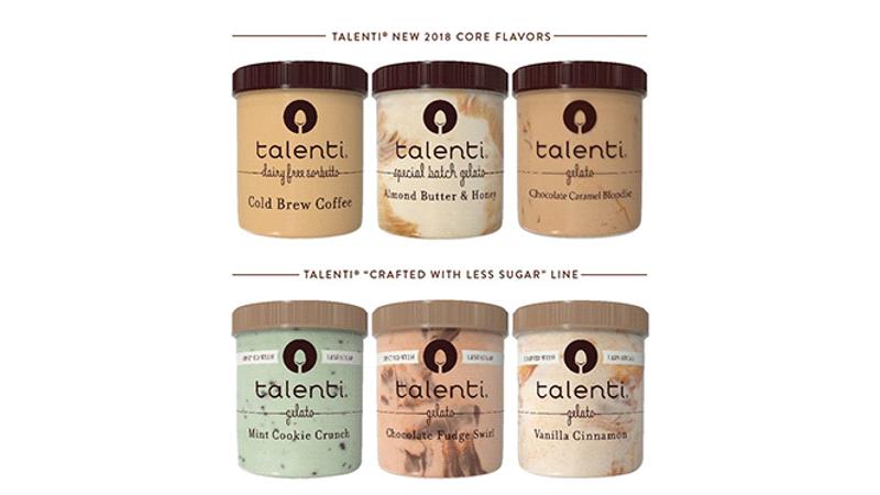 Talenti 2018 Flavors
