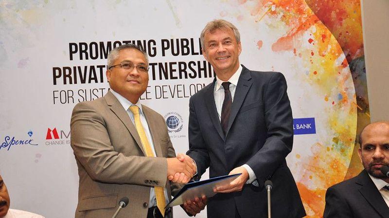 Unilever, UNDP and UNGC
