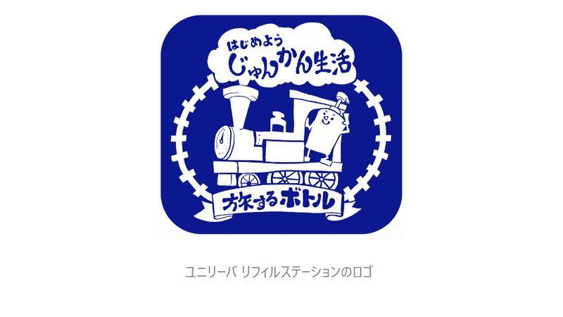 ユニリーバ リフィルステーションのロゴ