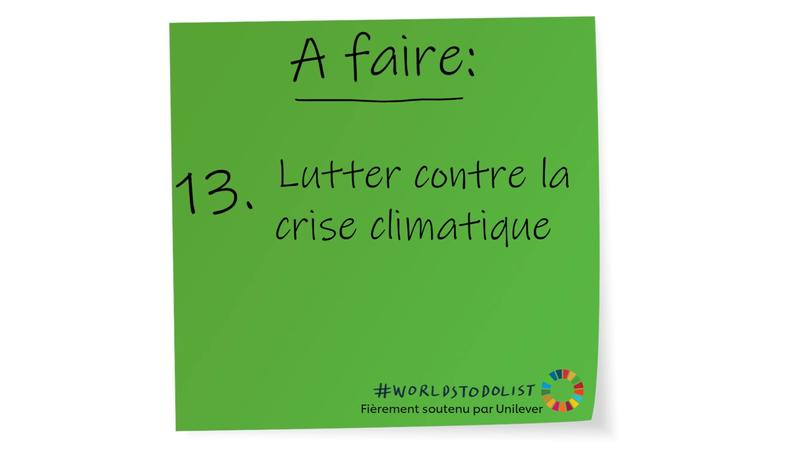 Lutter contre la crise climatique