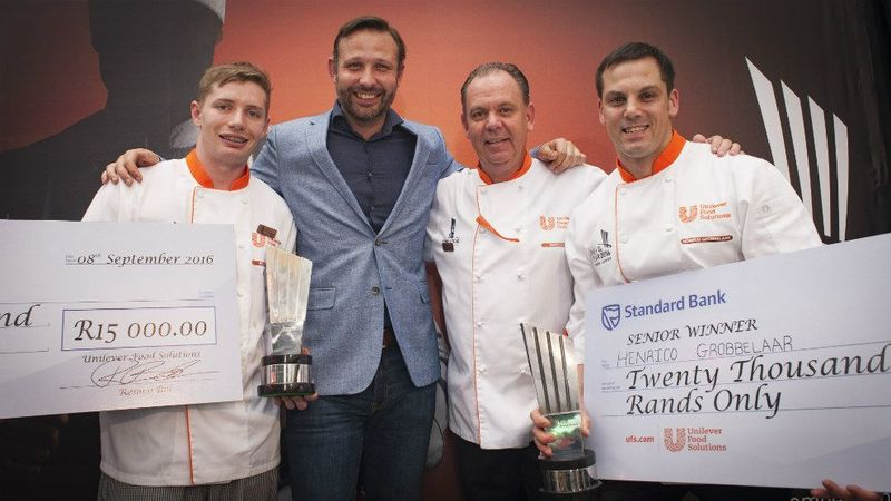 South Africa Chef Of The Year Junior Senior Winners