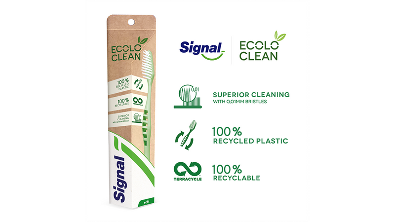 Superior cleaning, 100% recycled plastic and 100% recyclable