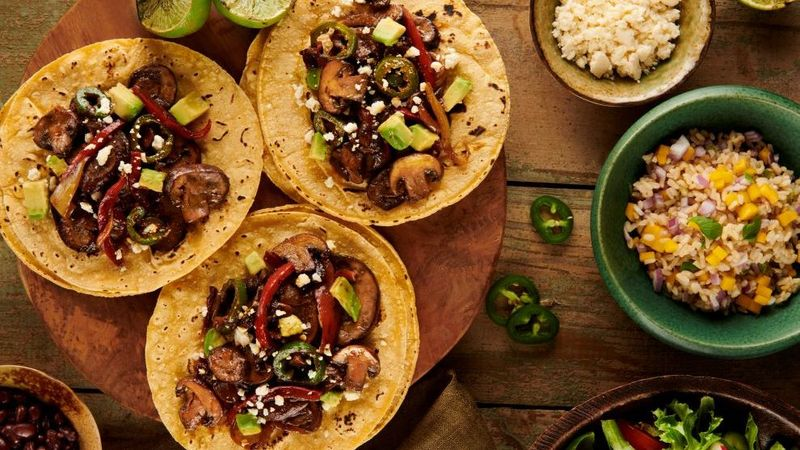 Knorr Vegetable Taco Recipe with Mushrooms