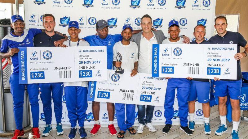 Shield winners group