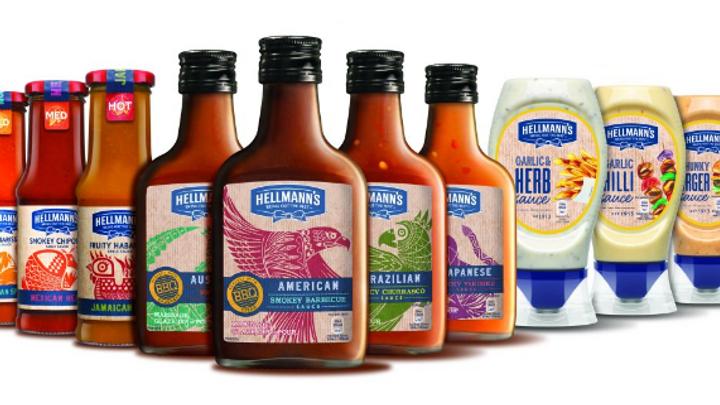 Hellmann's hot sauces