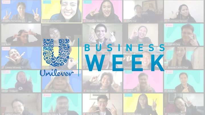 Business Week participants in an online meeting