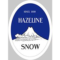 Hazeline snow logo