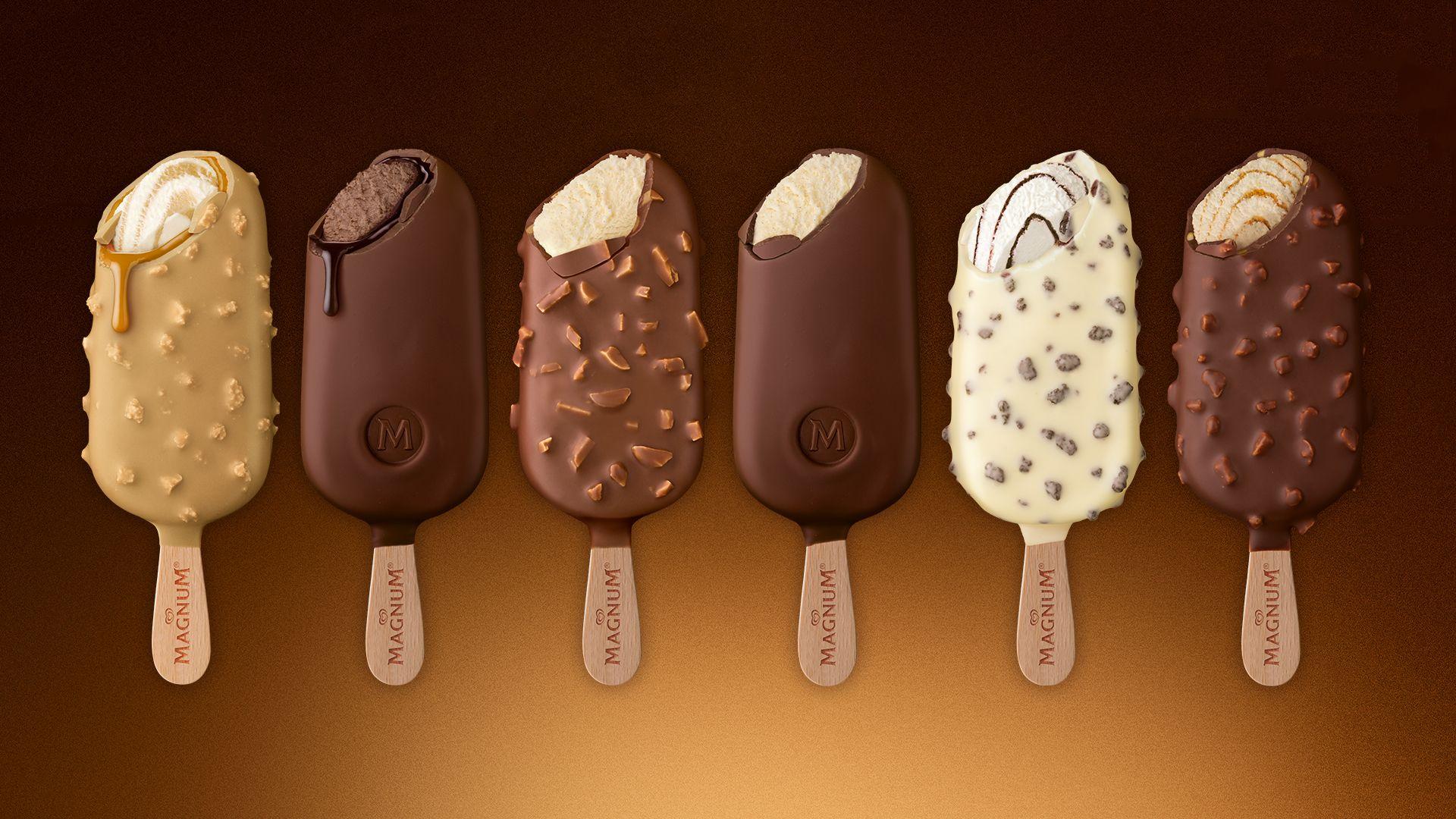 Gran variedad de helados Magnum para tener una experiencia de verdadero placer