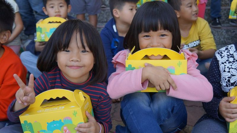 covid-19 support packages - cover image with children