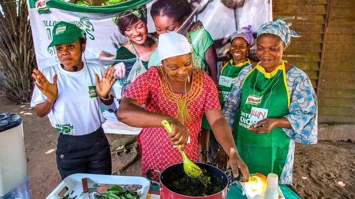 Knorr promoting cooking in Africa
