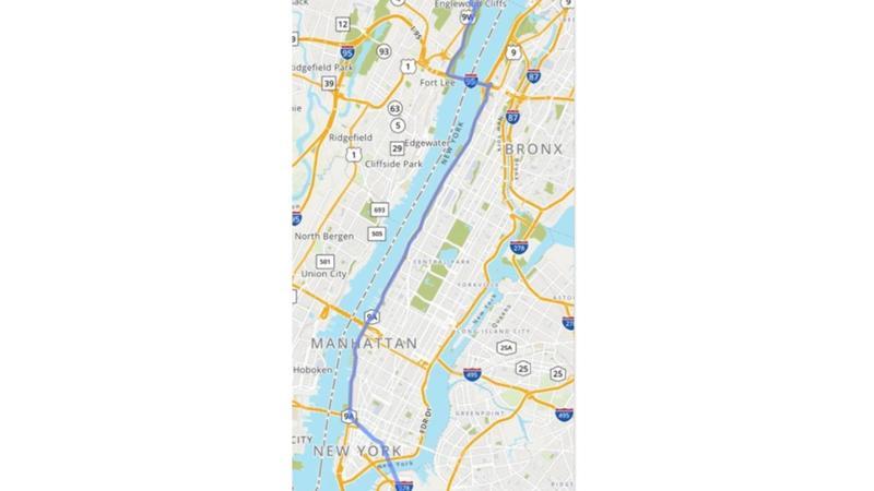 Brooklyn Shuttle Timetable map